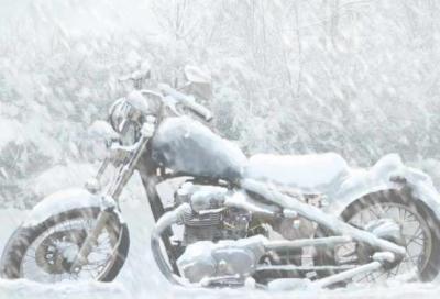 """Come mettere """"in letargo"""" la moto durante l'inverno"""