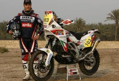 Dakar 2011: tredici Aprilia alla partenza