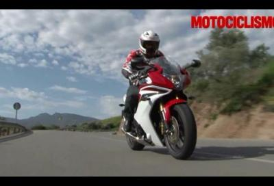 Honda CBR600F 2011: video test