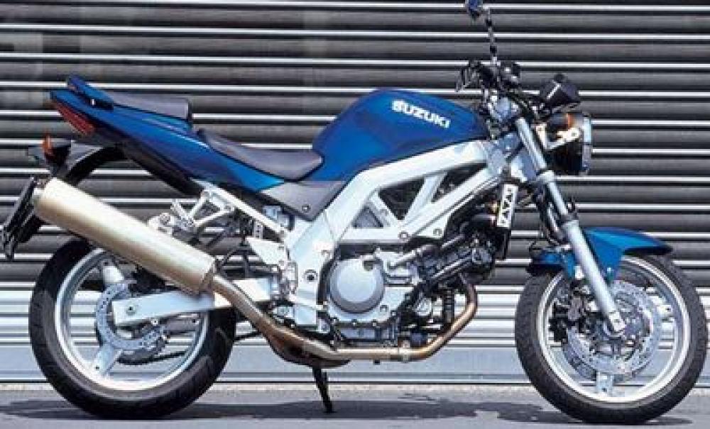 Umgebautes Motorrad Suzuki SV 650 von Stärker-Profil GmbH
