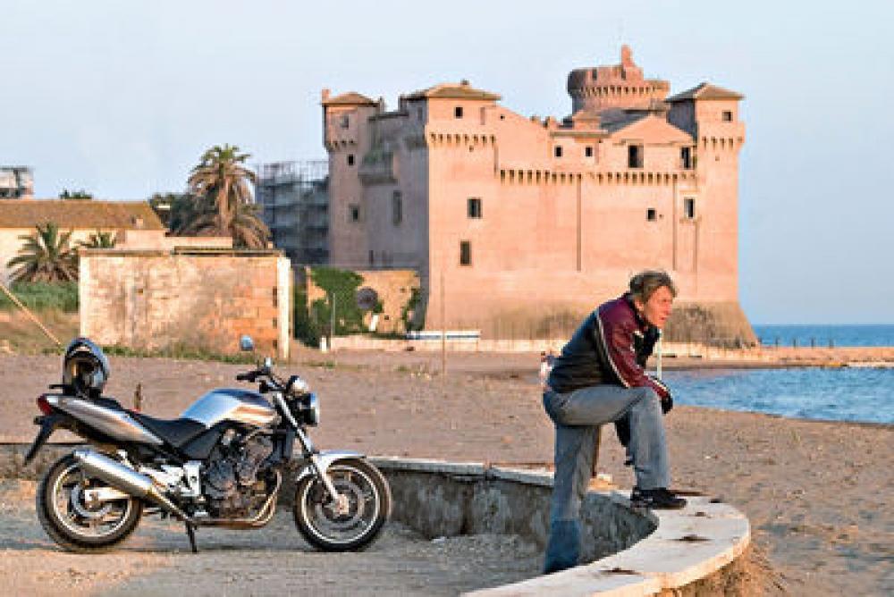 Lazio - Monti della Tolfa - Motociclismo