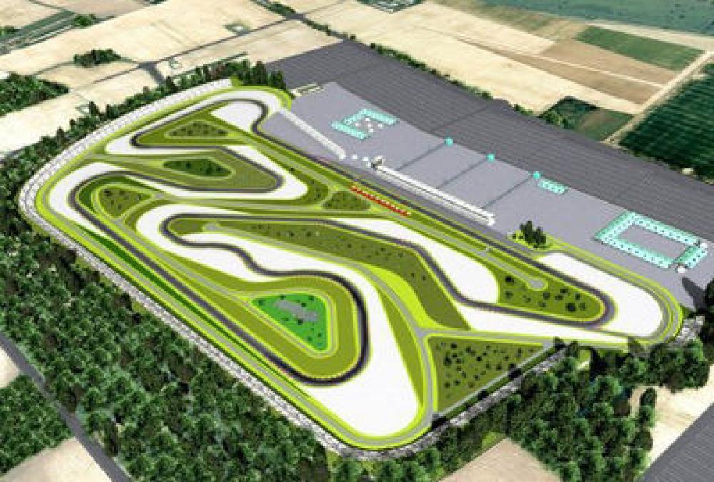 Circuito Ungheria : Nel 2009 la motogp in ungheria sul nuovo circuito balatonring