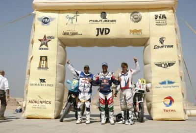 Rally dei Faraoni 2011: Coma su KTM vince in assoluta davanti a Rodrigues su Yamaha