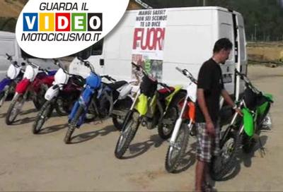 Prova comparativa motocross 250 4T 2012: a confronto tutte le MX2 disponibili sul mercato