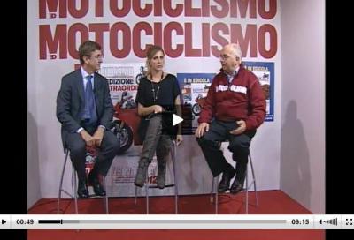 Dalla diretta della trasmissione TV di Motociclismo: Bosch e Pirelli Eicma 2011