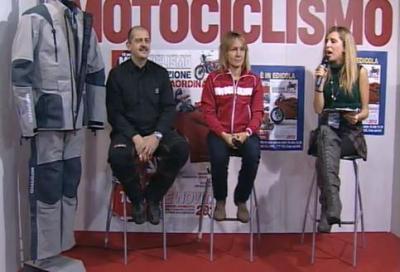 Dalla diretta della trasmissione TV di Motociclismo: abbigliamento scooter BMW, novità TCX 2012