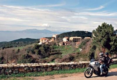 La Corsica in moto: Ajaccio e i suoi dintorni, tra strada e fuoristrada