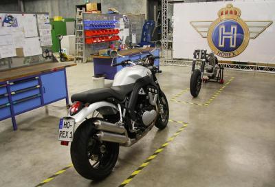 Horex VR6 Roadster: inizia la produzione della sei cilindri a V