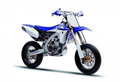 Yamaha YZ450SM: supermotard da corsa derivata dalla cross YZ450F