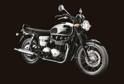 Triumph Bonneville edizione speciale 110° anniversario