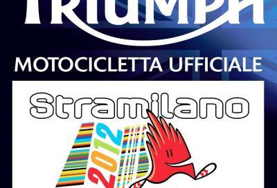 Triumph moto ufficiale della Stramilano 2012