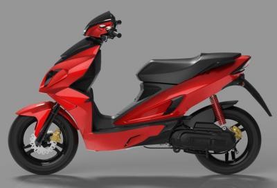 Nuovo scooter Rieju: spagnolo con l'Italia dentro