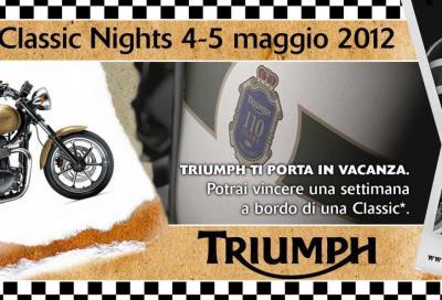 Triumph: la notte delle classiche