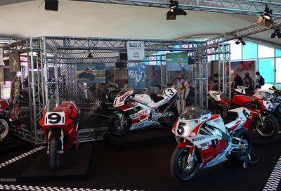 25 anni di SBK: a Monza in mostra le top bikes