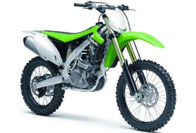 Nuove Kawasaki KX250F e KX450F