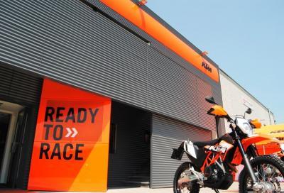 La nuova sede KTM di Albano S. Alessandro (BG)