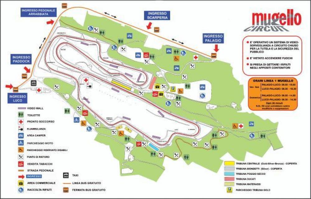 Tribuna Materassi.Motogp Al Mugello Prorogata La Prevendita Biglietti Motociclismo