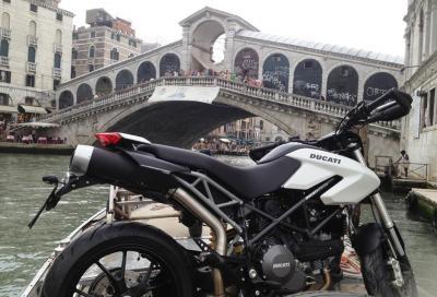 Ducati Hypermotard 796 a Venezia