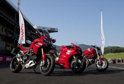 DRE: ai corsi Ducati, si impara la frenata con ABS