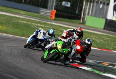 Comparativa supersport a Monza (video)
