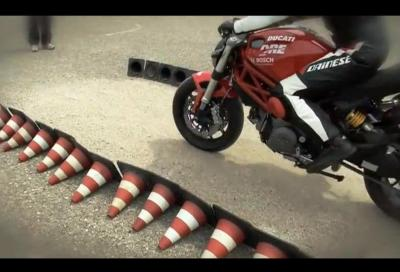 Bosch e Ducati insegnano l'ABS
