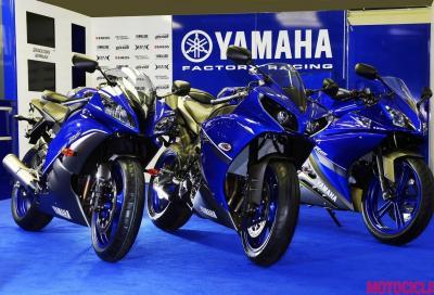 Yamaha R1, R6 e R125 2013: arriva la livrea Race Blu