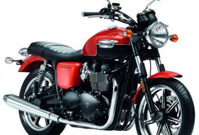 Triumph Bonneville: la novità 2013 sono i colori
