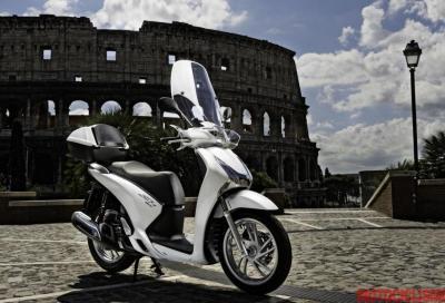 Honda SH 125i ABS e 150i ABS: video test