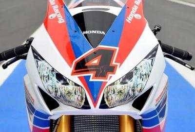SBK: la Honda CBR1000RR a Magny Cours con i colori della 2013