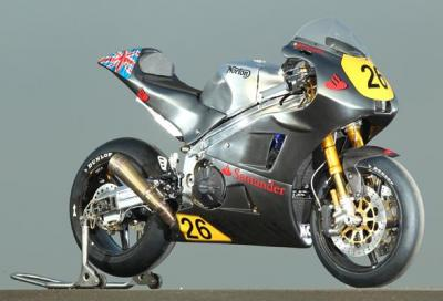 Norton: al TT 2013 con 2 moto motorizzate Aprilia