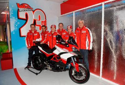 I piloti Ducati arrivano a Madonna di Campiglio