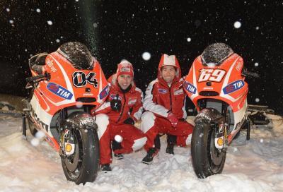 Ducati MotoGP: le prime foto della GP13
