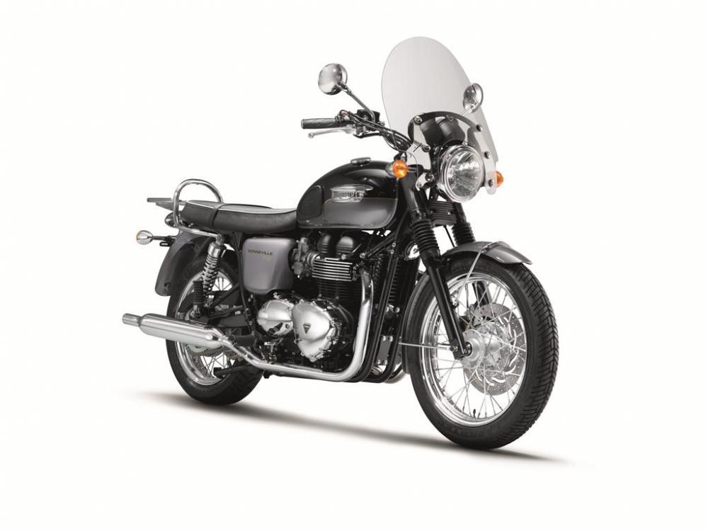 58fd31ca4 La promozione Triumph Extra 2013 parte a febbraio - Motociclismo