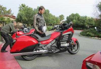 Honda Gold Wing F6B: il test in California