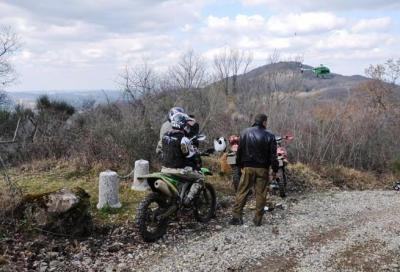 La Forestale contro il fuoristrada illegale nel Chianti