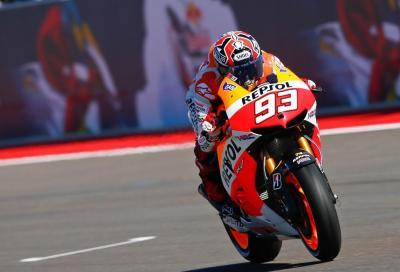 MotoGP Austin: Marquez pole da fantascienza