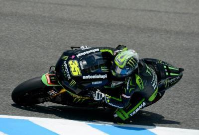MotoGP Jerez: le Libere 3 a Crutchlow. Rossi 4° ma vicino
