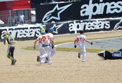 Valentino Rossi: con queste gomme siamo troppo al limite