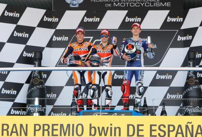 MotoGP a Jerez: vince Pedrosa, Marquez esagerato!