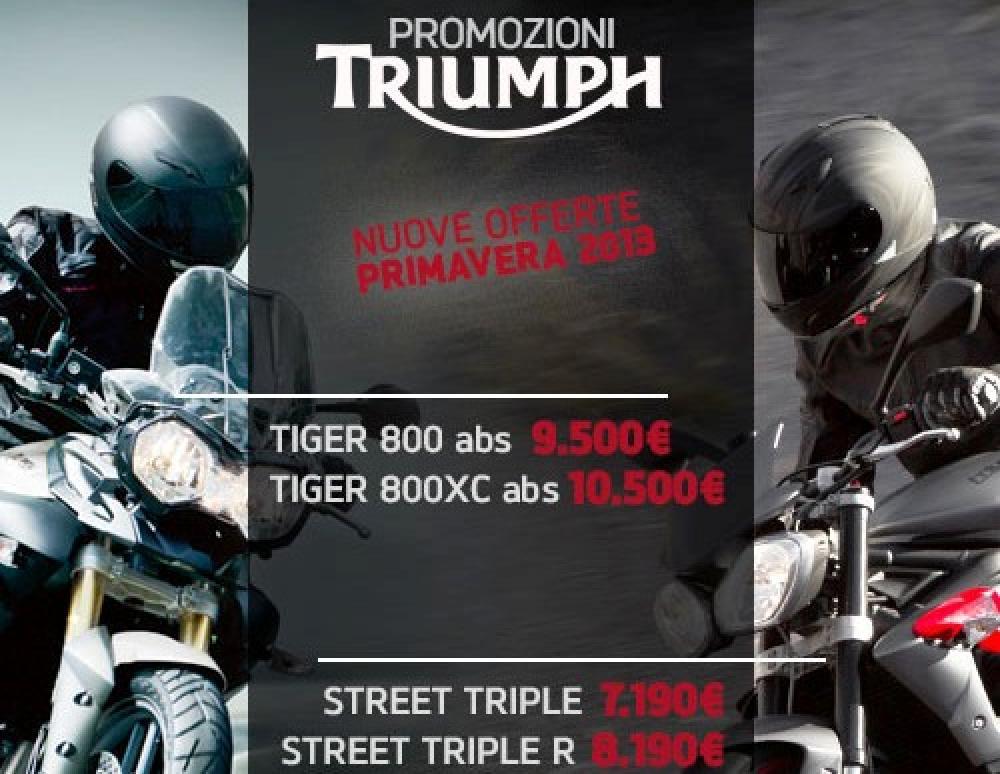 cc3b8ce29 Suzuki e Triumph  demo ride e super sconti - Motociclismo