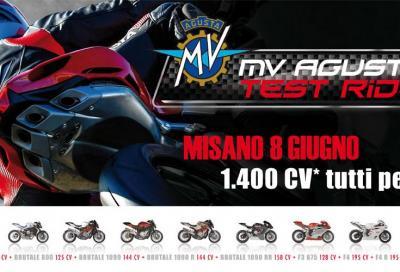 MV Agusta F4, F3 e Brutale (4 e 3 cilindri): provatele a Misano