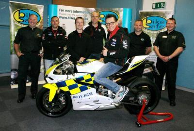 Una Ducati Panigale per la polizia inglese
