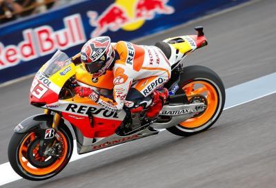 MotoGP Indianapolis FP2: Marc Marquez ancora davanti