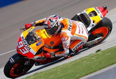 MotoGP Indianapolis: pole e record ad un Marquez schiacciasassi