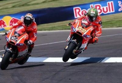 Valentino Rossi sorride, Ducati fa sorridere