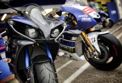 Yamaha per il 2014 veste di blu R1, R6 e MT-09