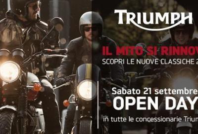 Test ride Triumph gamma Classics 2014