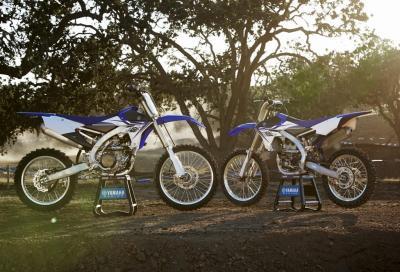 Demo Ride nuove Yamaha YZ450F e YZ250F