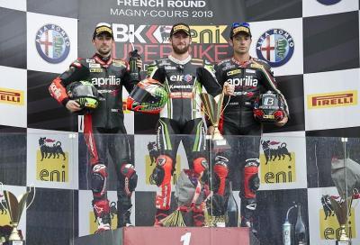 SBK: con Gara 2 Sykes fa doppietta a Magny-Cours
