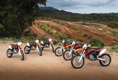 KTM Offroad 2014: test ride per tutti